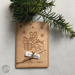 Vianočné drevené prianie