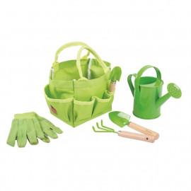 Záhradné náradie v praktickej taške