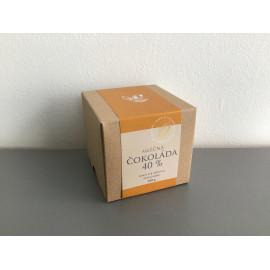 Čokoládové peniažky v krabičke  - mliečna čokoláda 40 %