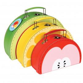 Súprava  3 ovocných kufríkov