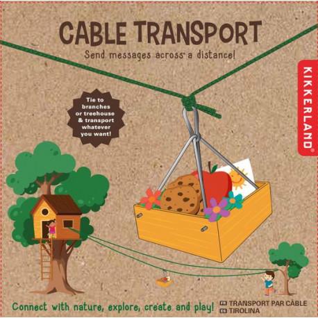 Huckleberryho lanová přeprava pro děti
