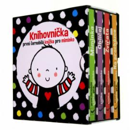 Knihovnička - Prvé čiernobiele knižky pre bábätko