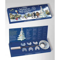 Tradičné vianočné liatie olova