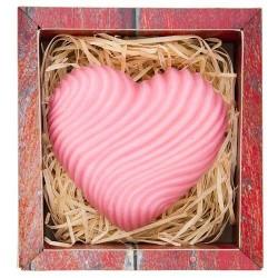 Ručne vyrábané mydlo vtvare srdca