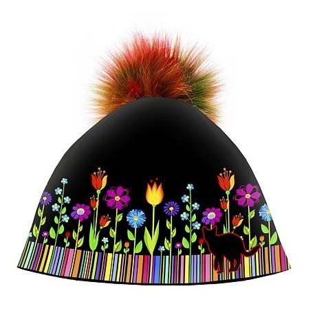 Dámska zimná čiapka Folk