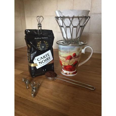 Kikkerland, Baristom na počkanie – sada na prípravu kávy