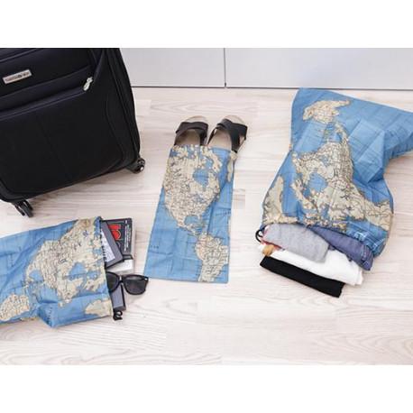 Kolem světa - sada cestovních pytlíků