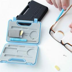 Sada na čistenie a opravu okuliarov