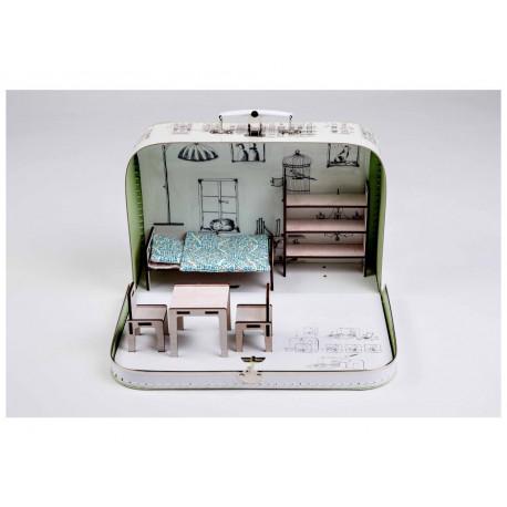Kufříkový domeček  - Za zrcadlem