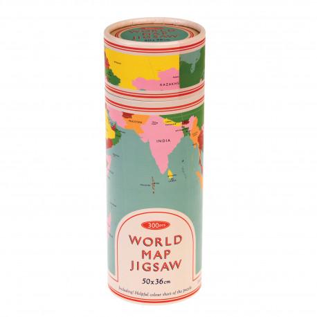 Rexlondon, Puzzle mapa sveta v tubuse