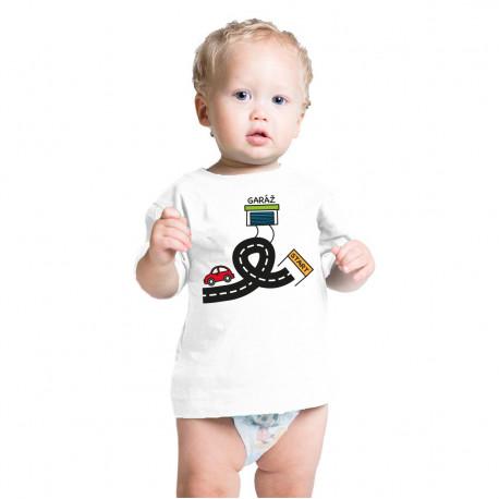 Tričko pro malé závodníky, autodráha