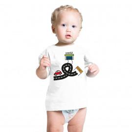 Tričko pre malých pretekárov, autodráha
