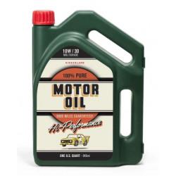 Sada nástrojů v nádobě na olej