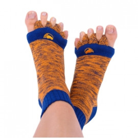 Adjustačné ponožky - Orange/Blue