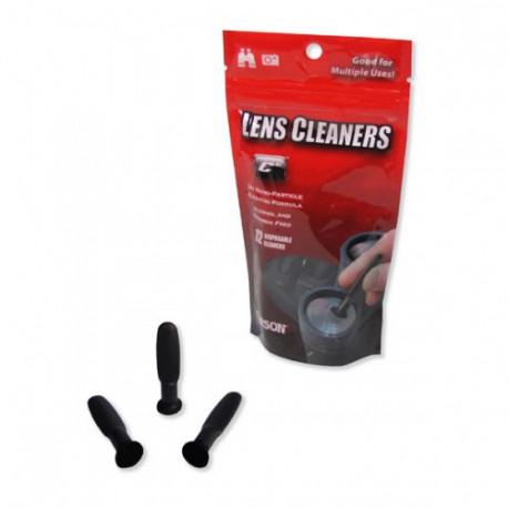 Karbonové čističe na objektiv a displej 12 ks